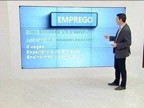 Confira vagas de emprego oferecidas pelo Sine Montes Claros - Diversas áreas de atuação estão disponíveis.