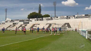Ponte Preta faz último treino antes de estreia na Copa Sul-Americana - Todos os titulares foram relacionados para a partida desta quarta-feira (5), às 19h15, em Campinas.