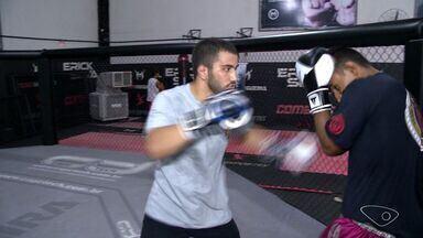 Irmão de lutador capixaba Erick Silva tenta seguir o mesmo caminho - Gabriel é irmão do lutador de MMA.