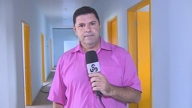 Moradores cobram inauguração de posto de saúde no bairro Três Marias, na capital - Obra está pronta há anos, mas não foi inaugurada.