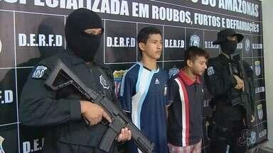Suspeitos de matar subtenente do Exército durante assalto em Manaus são presos - Crime ocorreu na Feira da Compensa, na Zona Oeste de Manaus no dia 19 de março deste ano.