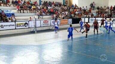 Mendes sai atrás, mas reage e goleia Valença por 8 a 3 na Copa Rio Sul de Futsal - Em duelo de seis pontos, equipe levou a melhor sobre anfitriões e se igualou ao líder Piraí no grupo C.