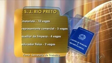 Balcão de Empregos de Rio Preto oferece oportunidades de trabalho - Tem oportunidade de trabalho em São José do Rio Preto (SP). São quase 70 vagas abertas. Os interessados devem ir até o Balcão de Empregos para entregar currículo. O endereço é rua Ondina, número 216, Redentora.