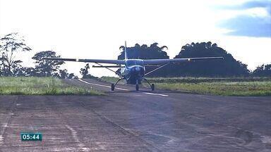 Tangará da Serra volta a ter voos comerciais até a capital - Tangará da Serra volta a ter voos comerciais até a capital.