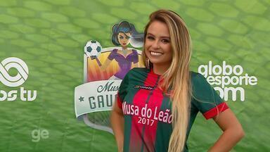 Musa do São Paulo-RS: Thaís Lopes pede o seu voto - Assista ao vídeo.