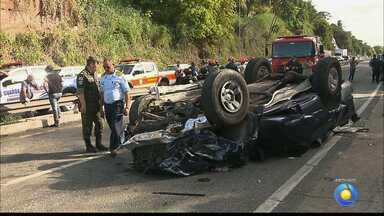 Polícia Civil adia perícia de acidente que deixou duas pessoas mortas em João Pessoa - Perícia foi adiada por causa das chuvas.