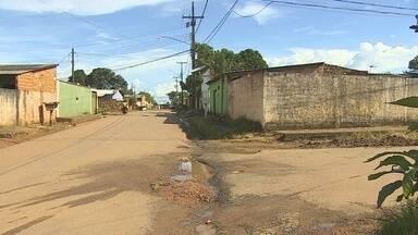 Falta de sinalização preocupa moradores da rua Jerônimo Santana, em Porto Velho - Rua fica no bairro Cohab.