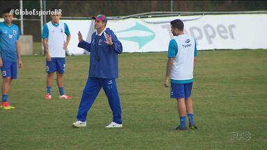 Paraná Clube tenta manter motivação diante do Vitória - Eliminado do Paranaense, Tricolor busca recuperação na Copa do Brasil