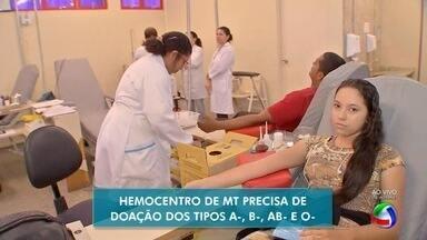 Hemocentro precisa com urgência de tipos sanguíneos negativos - Hemocentro precisa com urgência de tipos sanguíneos negativos.