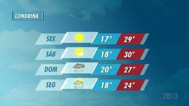 Feriado de sexta-feira santa com sol no norte do estado - Segundo a previsão do tempo, sábado também deve ser de sol. No domingo de Páscoa, deve chover.
