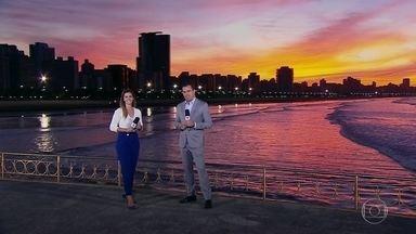 Equipe do Bom Dia São Paulo mostra as curiosidades de Santos (SP) - Na semana de aniversário do telejornal, que comemora 40 anos no ar, a equipe viaja para várias cidades dos estado. Nesta quinta-feira (20), conheça a cidade de Santos.