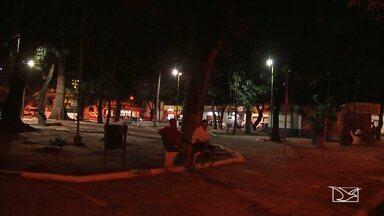 Aumenta o número de moradores de rua em Imperatriz - Sujeira nesses ambientes públicos também está afastando os frequentadores dos espaços públicos.