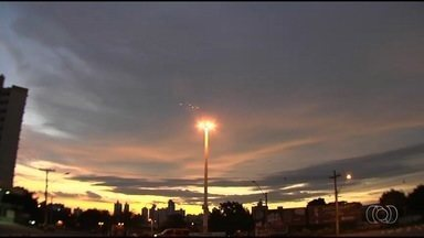 Goiás tem previsão de pancadas de chuva a partir da tarde - Expectativa é que essas pancadas sejam isoladas.