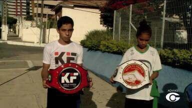 Maceió recebe atletas e lutadores de Kung Fu de vários estados do Nordeste - Evento é realizado neste fim de semana.
