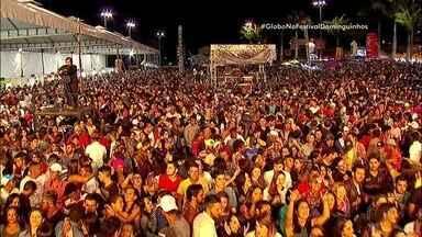 Festival Viva Dominguinhos faz noite animada em homenagem ao mestre sanfoneiro - Vários cantores de forró se revezaram no palco de Garanhuns para celebrar Dominguinhos.