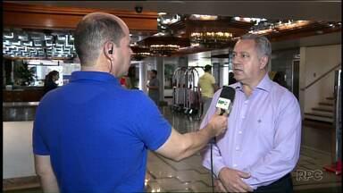 Setor hoteleiro comemora ocupação durante feriados em Foz - Os hotéis estão com mais de 80% da ocupação.