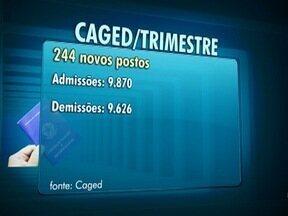 Caged aponta saldo positivo no emprego formal na região - Dados são referentes ao primeiro trimestre do ano.
