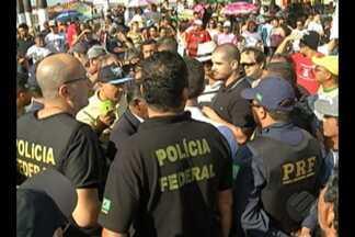 Moradores voltam a protestar contra o aterro sanitário de Marituba, na Grande Belém - Eles interditaram hoje de manhã parte da BR-316 e o trânsito ficou lento.