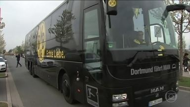 Polícia alemã prende suspeito de detonar bombas que atingiram ônibus da equipe do Borussia - A prisão levou a uma reviravolta nas investigações. De acordo com a promotoria, o ataque foi motivado por especulação financeira, e não tem ligação com o extremismo islâmico, como chegou a ser especulado no início.