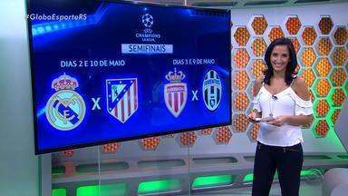 Globo Esporte RS - Bloco 2 - 21/04/2017 - Assista ao vídeo.