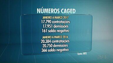 Na contramão do Paraná, Londrina demitiu mais do que contratou no primeiro trimestre - Os dados foram divulgados pelo CAGED, o Cadastro Geral de Empregados e Desempregados.O saldo foi positivo no Estado, mas negativo em Londrina.