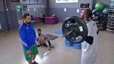 Novo aposta em treinamento funcional para ter fôlego no Campeonato Estadual - Novo aposta em treinamento funcional para ter fôlego no Campeonato Estadual