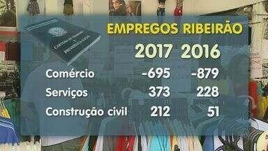 Comércio de Ribeirão Preto tenta sair dos números negativos da economia - Setor fechou o mês de março com saldo negativo em comparação ao mesmo período do ano passado.