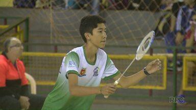 Matelândia recebe circuito de Badminton - Atletas de várias regiões do estado participam da competição.