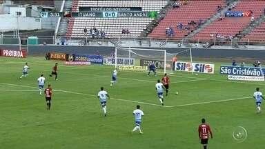 Ituano vence o Santo André na primeira partida da final do Troféu do Interior - Ituano vence o Santo André na primeira partida da final do Troféu do Interior: 1 a 0.