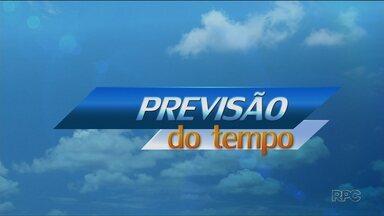 Tempo volta a abrir em todo o Estado neste fim de semana - O amanhecer vai ser bem frio em Curitiba neste sábado (22).