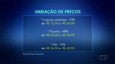 Pesquisa do Procon revela variação de até 100% no preço da carne - Pesquisa do Procon revela variação de até 100% no preço da carne