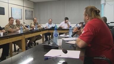 Reunião discute medidas para combater violência na capital - Reunião discute medidas para combater violência na capital