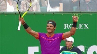 Rafael Nadal vence o Masters 1000 de Monte Carlo - Rafael Nadal vence o Masters 1000 de Monte Carlo