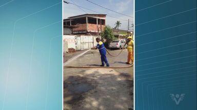 Acesso a Ilha Caraguatá, em Cubatão, recebe melhorias - Problema foi exibido no Jornal da Tribuna e, agora está sendo resolvido.