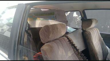 Quatro suspeitos são presos após furtarem rancho na divisa entre SP e MG - Criminosos foram flagrados com bomba d'água, botijões de gás e fios elétricos entre Franca e Ibiraci.