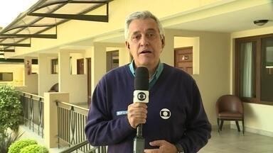 Palmeiras se prepara para a partida contra o Jorge Wilstermann - Palmeiras se prepara para a partida contra o Jorge Wilstermann