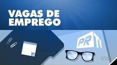 Região oferece mais de 130 vagas de emprego pra semana - As vagas estão disponíveis nas agências do Trabalhador de Umuarama, Paranavaí e Cianorte