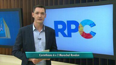 Marechal Rondon perde de 6 a 2 para o Corinthians - A próxima partida é na sexta-feira contra o Assoeva.
