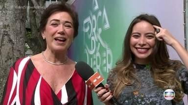 Lília Cabral fala sobre o vício de sua personagem em 'A Força do Querer' - Atriz conversa com o 'Vídeo Show' sobre o problema de Silvana, que não consegue aceitar sua doença