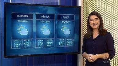 Confira a previsão do tempo para esta terça-feira no Sul do Estado - Veja com mais detalhes como fica as temperaturas em cidades da região.