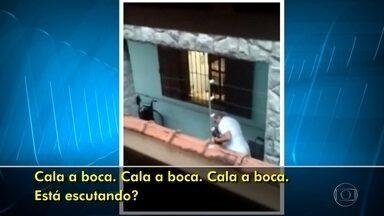 Polícia vai investigar denúncia de agressão a idosa em casa de repouso, em BH - Caso foi denunciado por um vizinho, que postou um vídeo nas redes sociais.