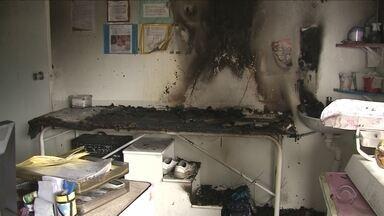 Creche municipal pega fogo no Norte de SC e principal suspeita é de incêndio criminoso - Creche municipal pega fogo no Norte de SC e principal suspeita é de incêndio criminoso