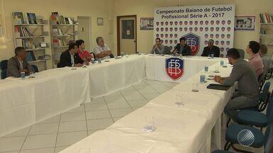 Ba-Vi: mudanças serão implementas para evitar confusões entre jogadores e comissão técnica - Mudanças para a partida da próxima quarta (3) foram definidas em reunião entre a Federação Baiana, Arena Fonte Nova e os clubes.