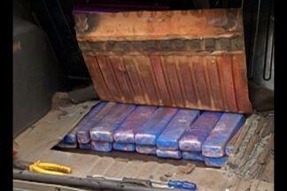 Dois homens foram presos com 50 quilos de maconha em um carro, na capital - A droga veio do Paraguai e seria vendida em Belém.