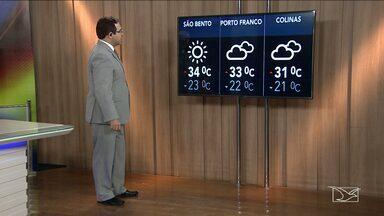 Veja a previsão do tempo para esta quinta-feira (04) no MA - Confira como deve ficar o tempo e a temperatura em São Luís e no Maranhão.