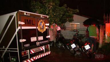 Homem morre vítima de tiros no Campos do Iguaçu - Namorada do rapaz também foi ferida.