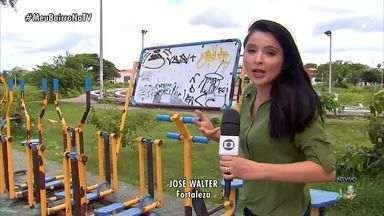 Meu Bairro na TV ouve reclamação de moradores do José Walter - Quadro vai ao ar no CETV às quintas-feiras.