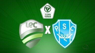 Luverdense e Paysandu se enfrentam pela partida de ida da decisão da Copa Verde - Luverdense e Paysandu se enfrentam pela partida de ida da decisão da Copa Verde