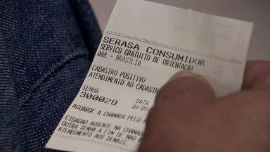 Cadastro da Serasa mostra que consumidores que têm dificuldades para pagar suas contas - E o consumidor do DF tem notas melhores que a média brasileira.