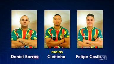 Diretoria do Sampaio Corrêa anuncia lista de dispensa com nove jogadores - Diretoria do Sampaio Corrêa anuncia lista de dispensa com nove jogadores